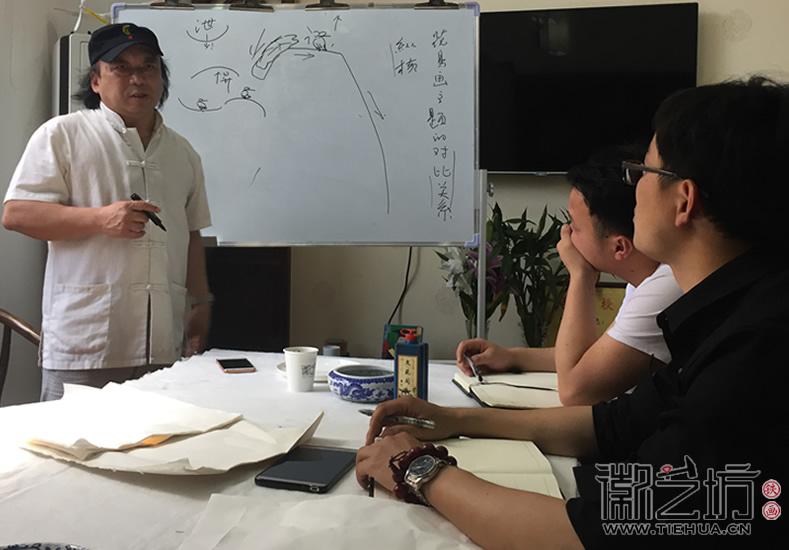 芜湖铁画知行社第六期课程报道8