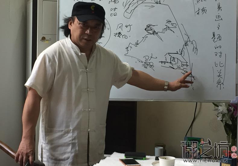 芜湖铁画知行社第六期课程报道7