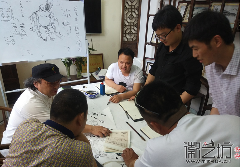 芜湖铁画知行社第六期课程报道12