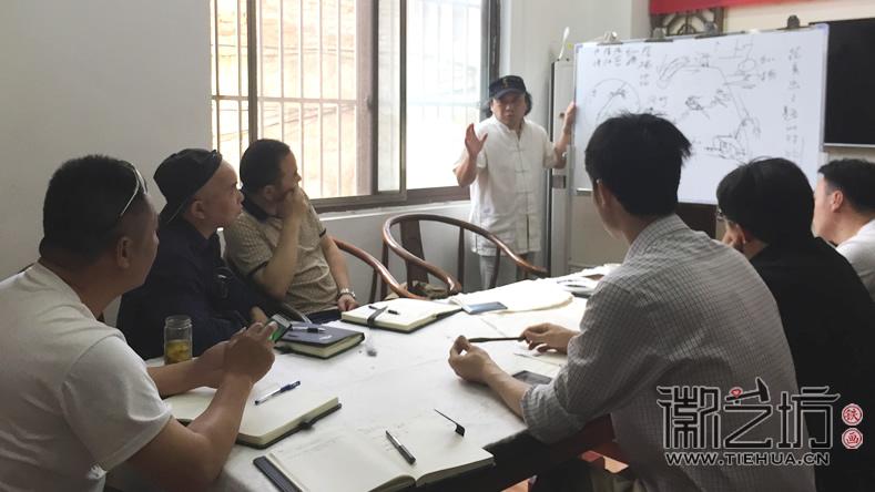 芜湖铁画知行社第六期课程报道6