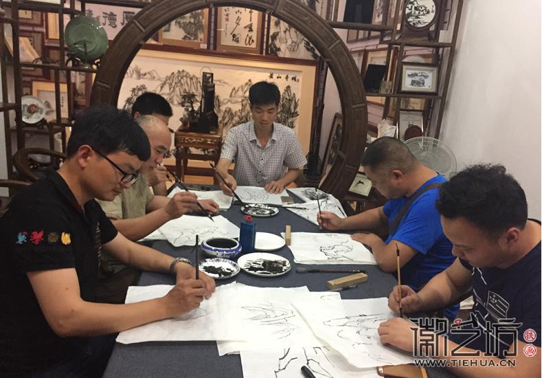 2017.6.17芜湖铁画知行社第九期课程报道11