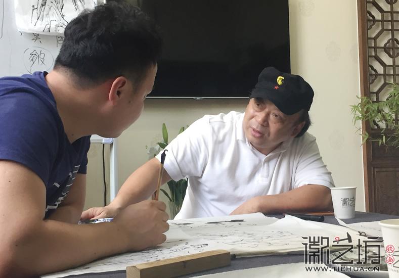 2017.6.17芜湖铁画知行社第九期课程报道14