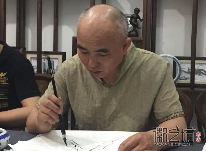 2017.6.17芜湖铁画知行社第九期课程报道7