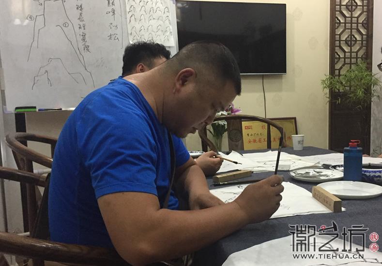 2017.6.17芜湖铁画知行社第九期课程报道9