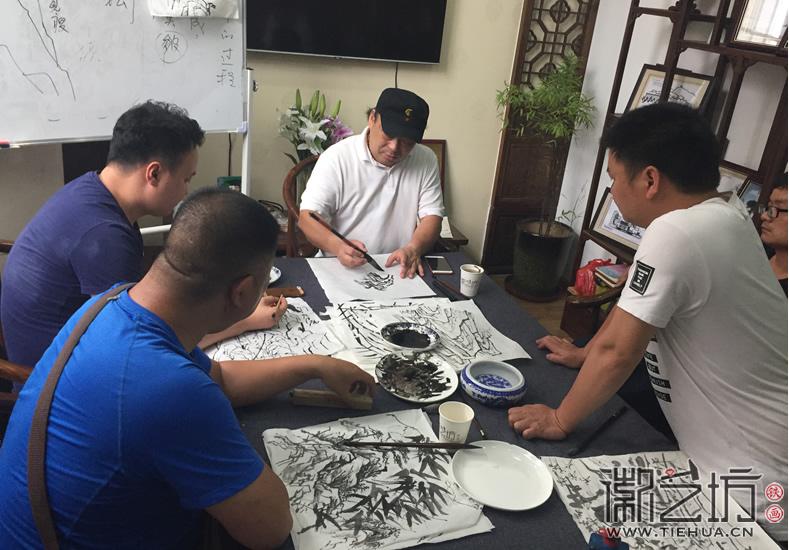 2017.6.17芜湖铁画知行社第九期课程报道22