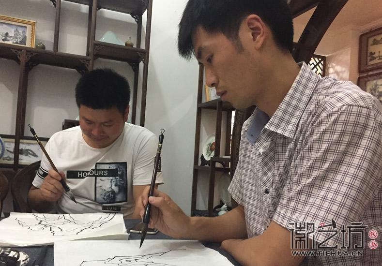 2017.6.17芜湖铁画知行社第九期课程报道8